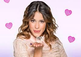 Les baisers d'amour dans Violetta