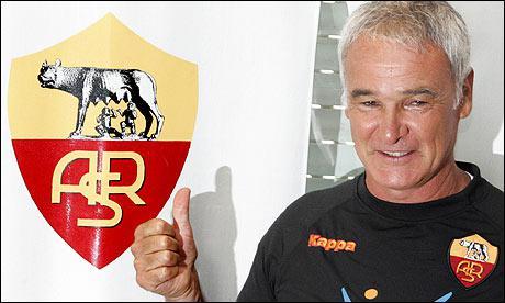 Qui a été entraîneur de L'AS Roma de 2009 à 2011 ?