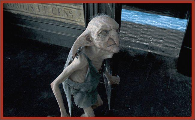 Comment s'appelle l'elfe de maison qui habite au 12 square Grimmaud ?