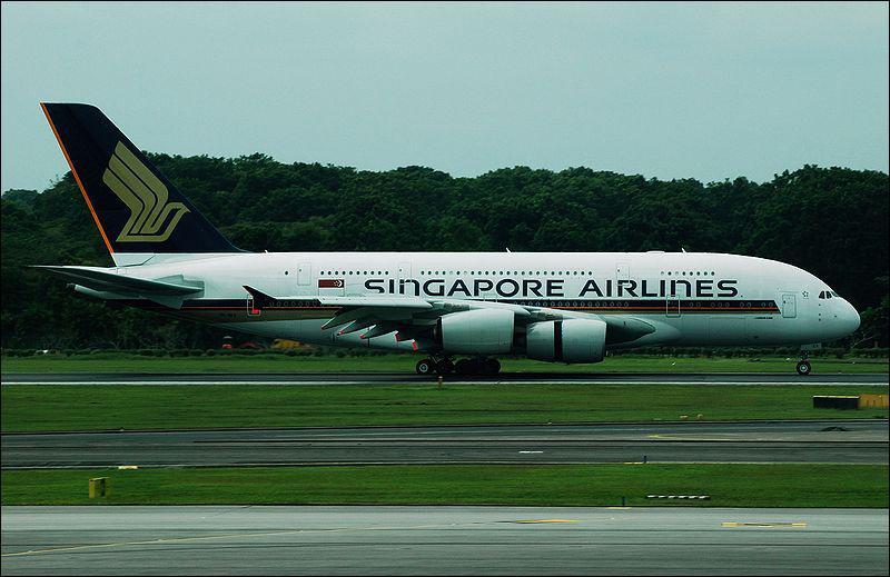 Le plus gros avion civil en service, surnommé Super Jumbo :