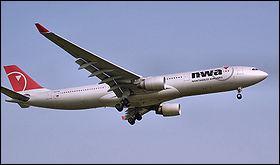 Avion long-courrier équipé de biréacteurs gros-porteurs :