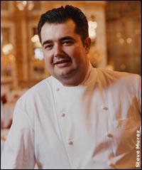 Ancien chef au restaurant ' Les Ambassadeurs' à l'hôtel 'Le Crillon' à Paris, il est aujoud'hui le chef de ' La Brasserie Thoumieux' à Paris. A participer à l'émission ' Top Chef' sur M6.