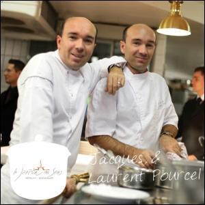 Ces deux jumeaux sont les excellents chefs du restaurant ' Le Jardin des Sens' à Montpellier. Ils sont très médiatisés aussi.