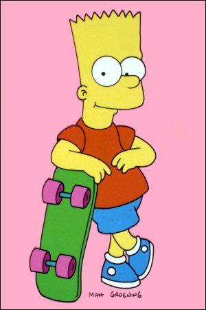 Comment s'appelle le garçon de la famille Simpson ?