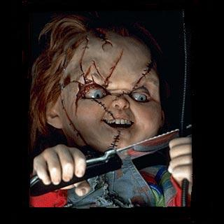 Quel nom commercial a Chucky ?