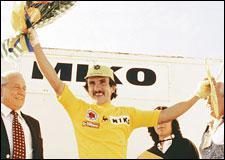 Il fallait un pionnier. Il portait la moustache, ne payait pas de mine, et remporta le Tour de l'Avenir 1980 devant le 'Tsar' russe Soukhoroutchenkov et les meilleurs amateurs européens...
