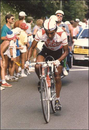 L'année 1984 marque la véritable explosion du cyclisme colombien : Francisco Rodriguez gagne 2 étapes sur le Dauphiné, remporté par ce coureur, qui terrassa Hinault dans le col de Rousset...