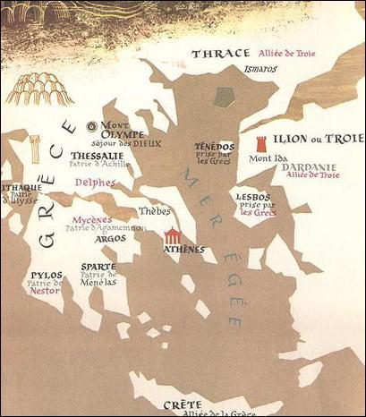 Quel dieu-fleuve n'a absolument aucun rapport avec Troie et n'est pas évoqué dans l'Illiade ?