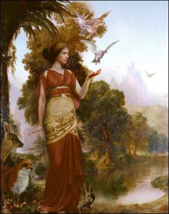 Dans la mythologie grecque, qui est la déesse de la Fertilité des terres ?