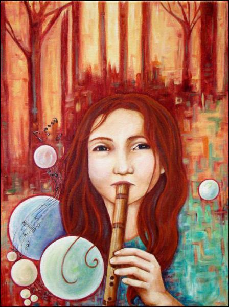 Quelle muse, qui préside à la musique, a inventé la Flûte ?