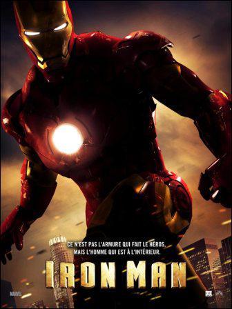 Quel acteur joue le rôle de Tony Stark dans le film : ' Iron Man ' ?