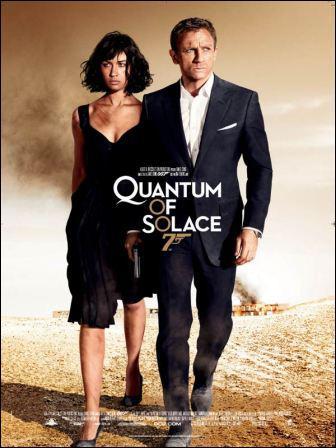 Quel acteur joue le rôle de James Bond dans le film : ' Quantum of solace ' ?