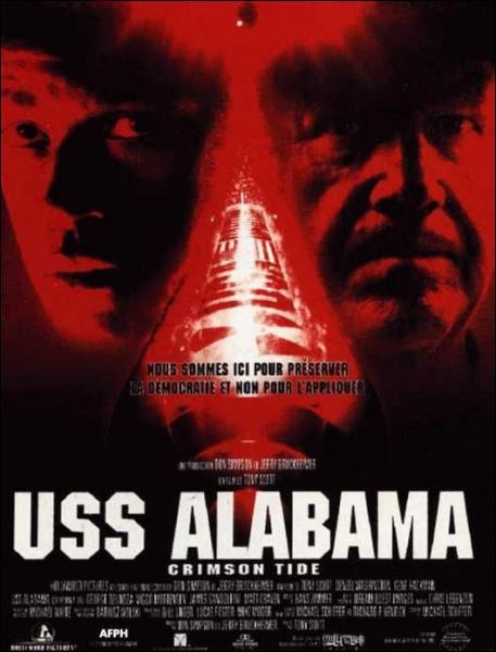 Dans le film ' USS Alabama ' , il joue le rôle d'un commandant en second d'un sous-marin nucléaire qui s'oppose à son supérieur ( Gene Hackman ). Il s'agit de :