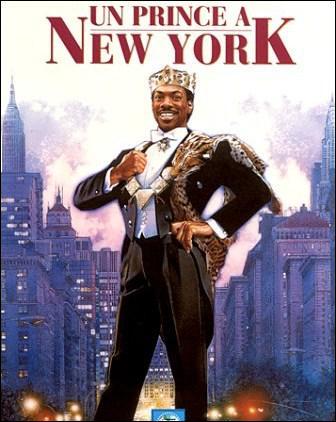 Dans le film ' Un prince à New-York', il joue le rôle d'un prince africain qui vient chercher l'âme soeur aux Etats-Unis. Il s'agit de :