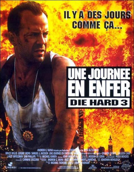 Dans le film ' Die Hard 3 : une journée en enfer', il est le partenaire du célèbre agent John Mc Clane ( Bruce Willis ). Il s'agit de :