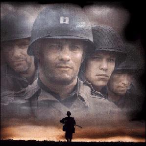 Qul est ce film où Tom Hanks joue le rôle d'un soldat du débarquement pendant la 2 ème guerre mondiale ?