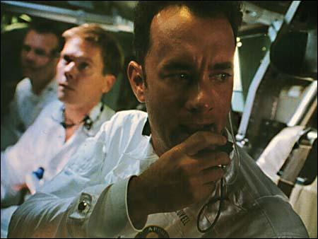 Quel est ce film où Tom Hanks joue le rôle d'un astronaute ?