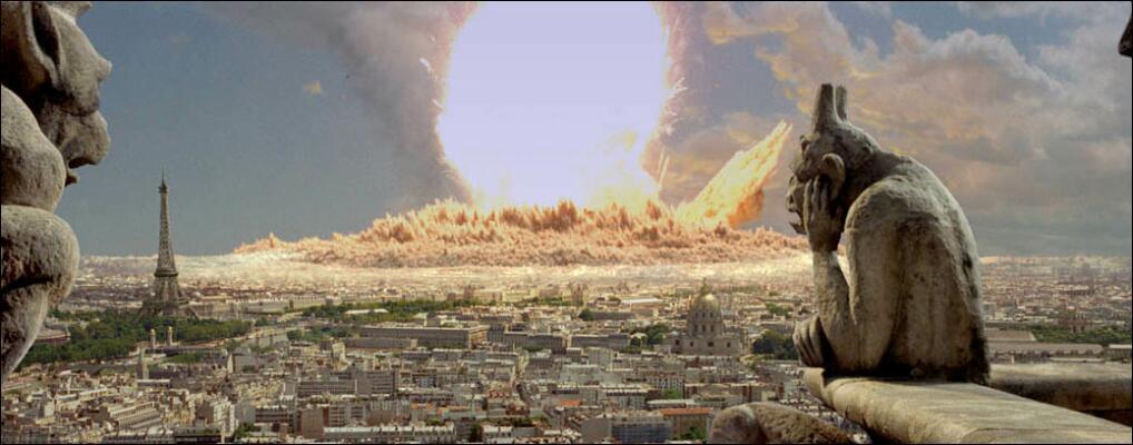 Dans quel film la ville de Paris est frappé par une météorite ?