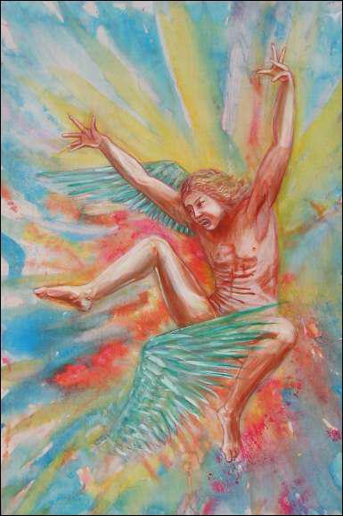 Ce personnage de la mythologie est certainement la première victime déclarée d'accident aérien. En effet, ses ailes fabriquées fondirent en plein vol car il s'approcha trop près du Soleil :