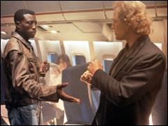 Quel est le numéro de place de Wesley Snipes dans le film éponyme ?