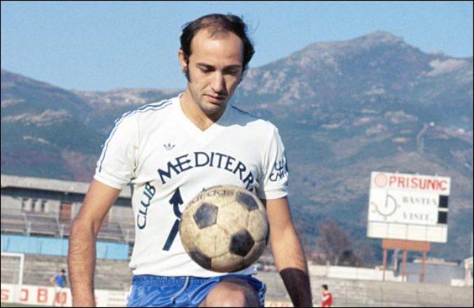 Footballeur corse décédé trop jeune, il a été de l'épopée bastiaise de 1978, c'est Claude ...