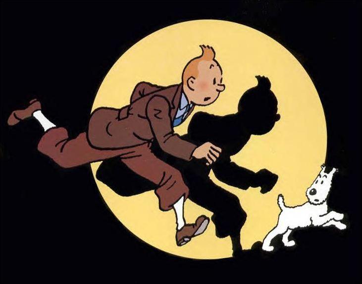 Personnages de Tintin en photo