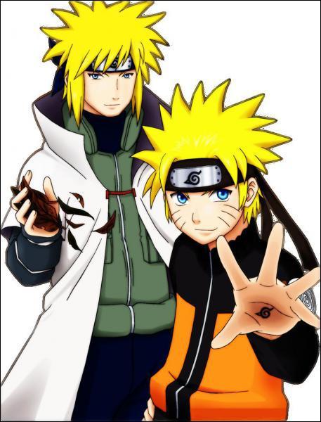 Quel est le nom japonais du père de Naruto ?