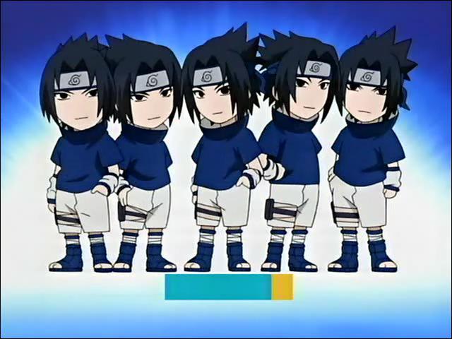 Quelle est la première technique que Sasuke a apprise ?