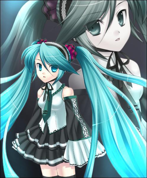 Est-ce que Miku Hatsune est un personnage de Manga Magical Girl ?