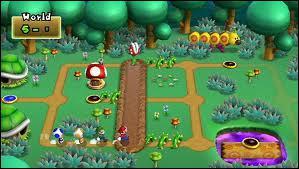 Sur cette image, où est Mario ?