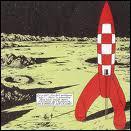 Quel héro de bandes dessinées a marché sur la lune, dans l'album ' On a marché sur la lune' ?