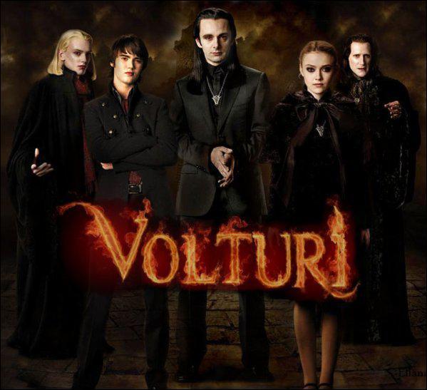 Dans quel chapitre voit-on les Volturi pour la première fois ?