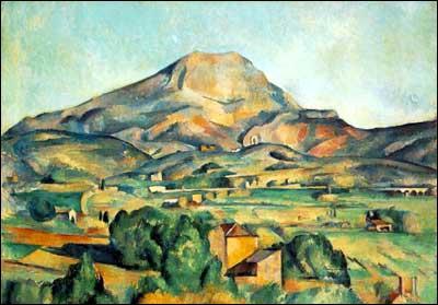 Quelle montagne de Provence a représenté Paul Cézanne ?