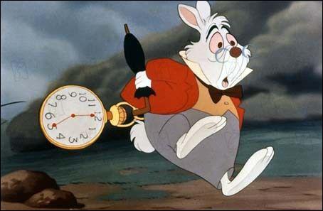 Quizz les lapins quiz dessins anim s - Alice au pays des merveilles lapin en retard ...