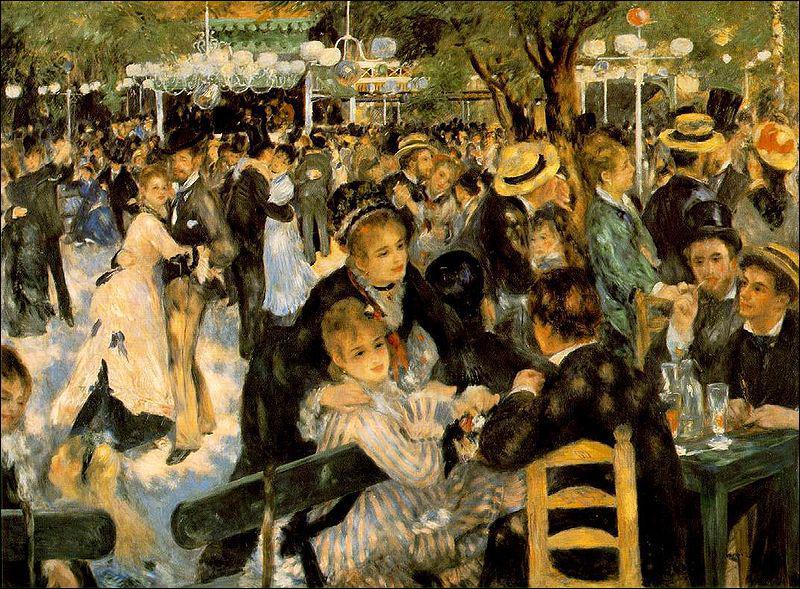 Quel peintre impressionniste a réalisé 'Bal du Moulin de la Galette' ?