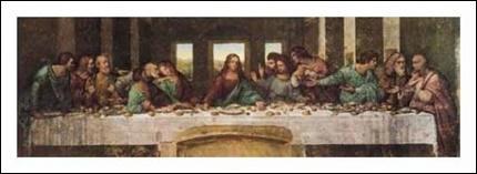 Quel peintre de la Renaissance a représenté la Cène ?