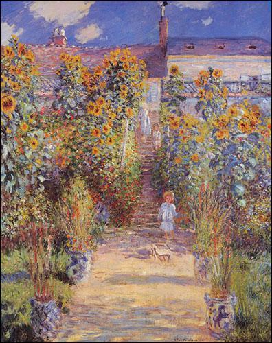 Qui a peint Jardin de l'artiste à Vertheuil ?