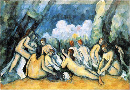 Qui a peint le tableau portant le même titre : Les grandes baigneuses ?