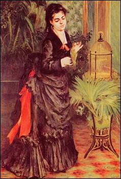 Qui a peint La femme à la perruche ?