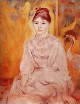 Qui a peint Jeune fille au cygne ?