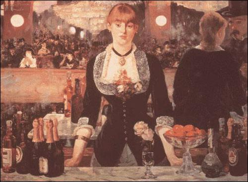 Qui a peint Le bar aux folies Bergère ?