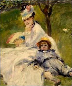 Qui a peint Camille Monet et son fils Jean ?