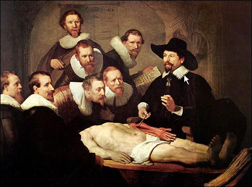 Leçon d'anatomie ... . mais il manque ... .