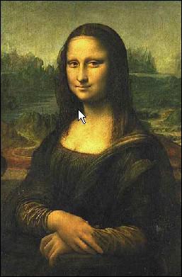 Mona Lisa sans :