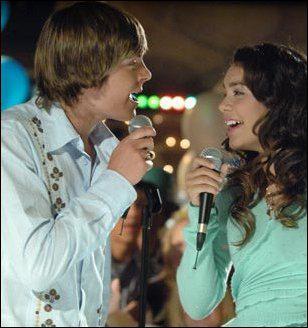 Que chantent-ils pour la première fois ensemble ?