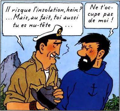 Personnages secondaires dans Tintin ( 2ème )