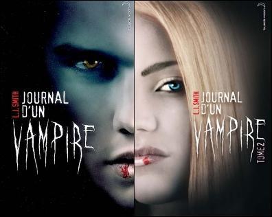 Par qui a été créée la saga LITTERAIRE 'Le journal d'un vampire ?