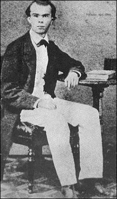 En mars 1884, il publie un essai qui expose la notion des rapports entre les poètes et la société. Cet essai s'appelle :