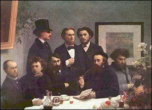 Arthur Rimbaud âgé de 16 ans lui envoie ses premiers poèmes. Ils se rencontrent à Paris, ils fréquentent les poètes du cercle des poètes Zutiques parmi lesquels Mallarmé. Ils sont scandalisés par :