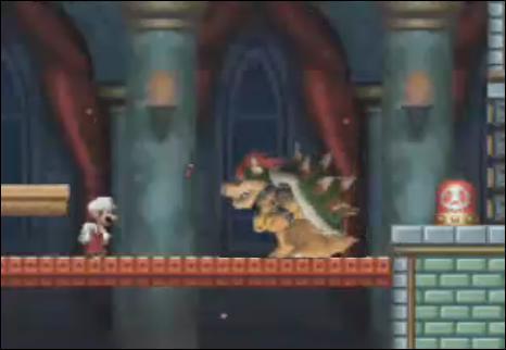 Voici une autre image d'un Mario Bros, et une nouvelle erreur à trouver ...